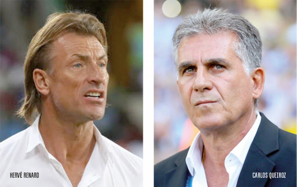 Carlos Queiroz vs Hervé Renard: dos estilos similares para dar la sorpresa en el Grupo B
