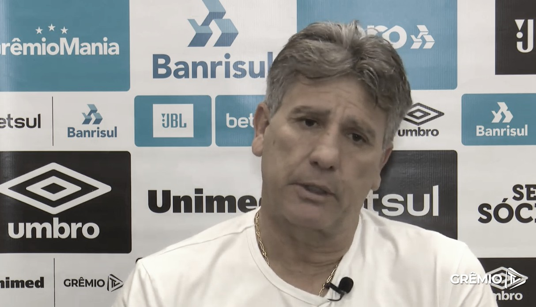 Renato volta a reclamar de pênalti não marcado no Gre-Nal após derrota para Flamengo