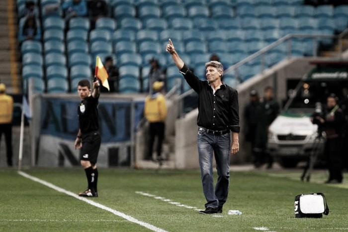 """Renato Gaúcho valoriza triunfo sobre Palmeiras: """"Toda vantagem é importante"""""""