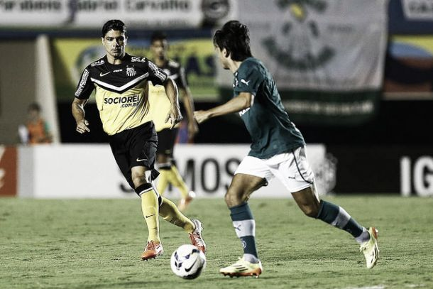 Renato admite erro em sua reestreia pelo Santos