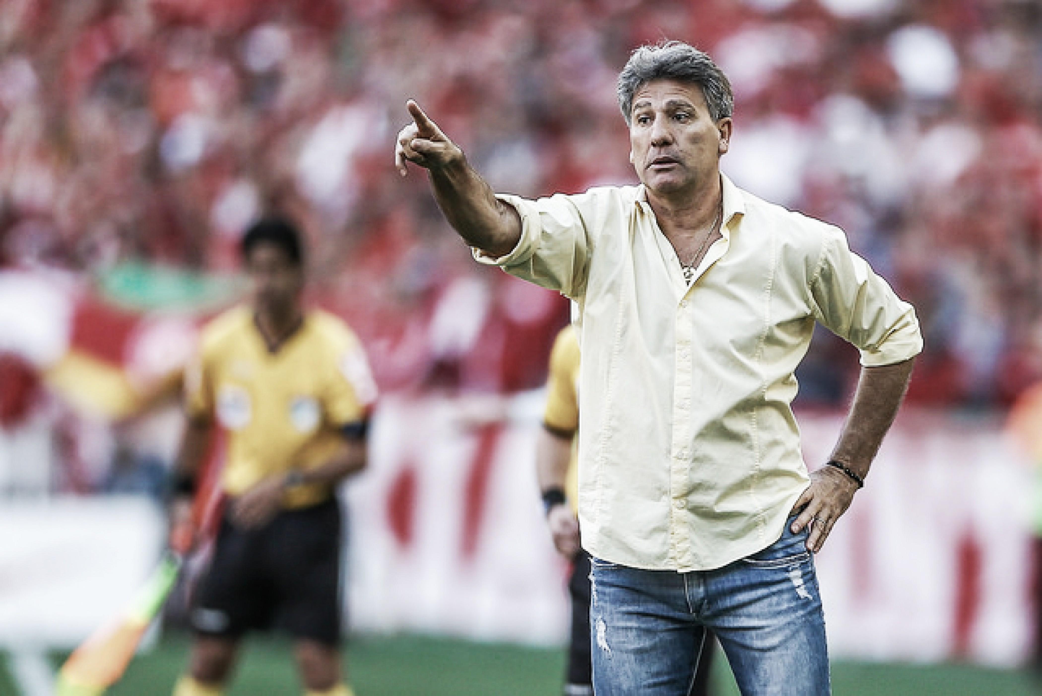 Renato explica confusão no Gre-Nal e afirma: ''Ninguém vai tirar onda com o Grêmio''