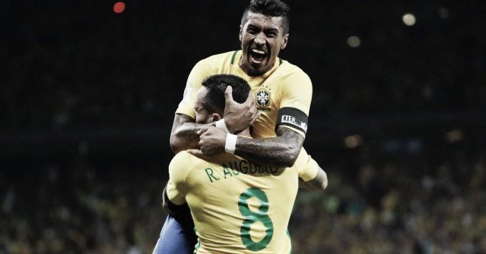 "Renato Augusto enaltece coletivo do Brasil: ""Tudo fica mais fácil"""