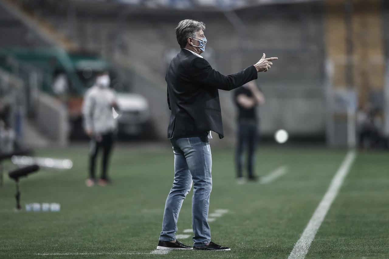 Renato Gaúcho critica Jorge Jesus por ligação para Everton antes de Gre-Nal pelo Gauchão