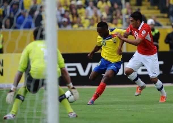 Resultado Chile - Ecuador enClasificación Mundial Brasil 2014 (2-1)