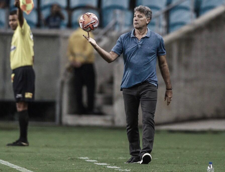 """Renato Portaluppi lamenta derrota do Grêmio dentro de casa: """"Hoje não foi nosso dia"""""""