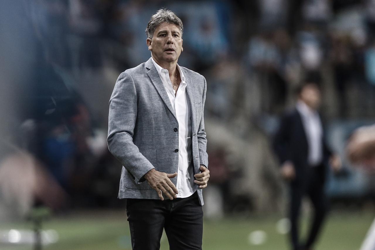 """Portaluppi demonstra confiança no Grêmio após classificação: """"Não tememos ninguém'"""