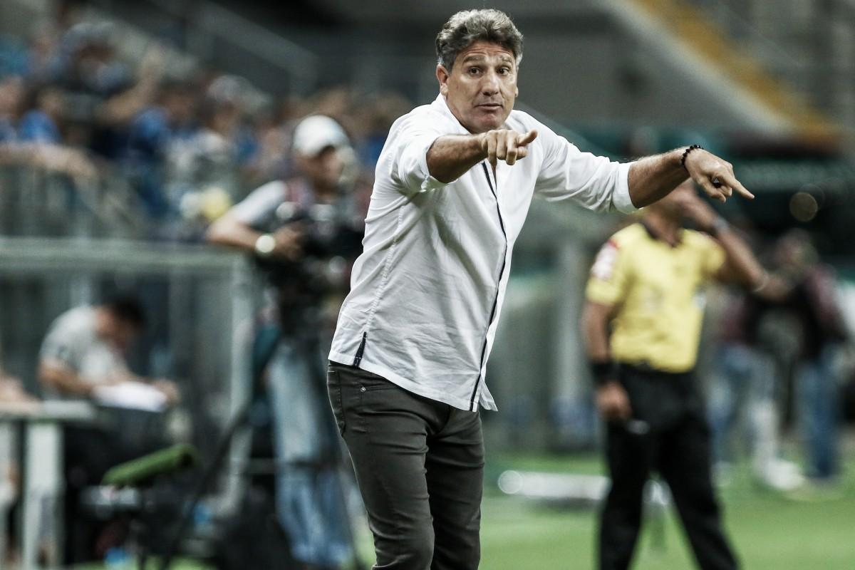 """Renato Portaluppi destaca atuação do Grêmio apesar de empate: """"Feliz com que equipe apresentou"""""""