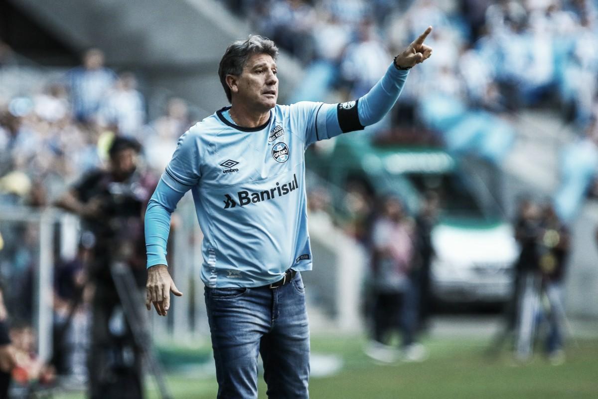 """Após empate no Gre-Nal, Renato critica postura do Inter: """"Joga como pequeno"""""""