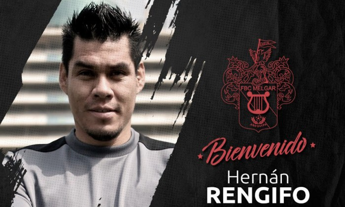 Hernán Rengifo es el nuevo refuerzo de Melgar