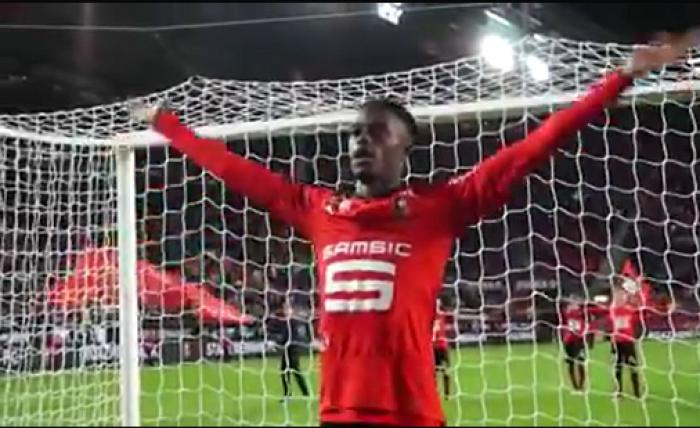 Com gol nos acréscimos, Rennes vence o Guingamp na Ligue 1
