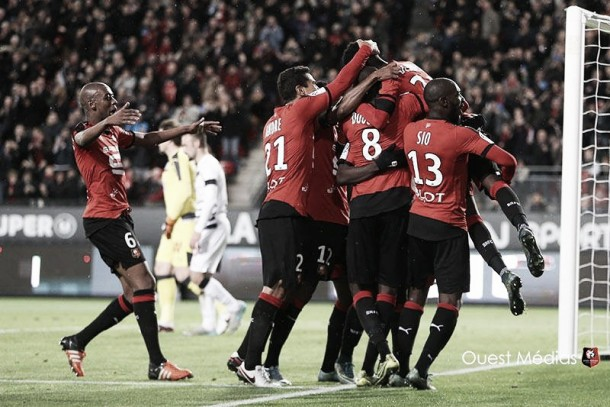 Stade Rennais 2-2 Bordeaux: Late drama in four-goal thriller
