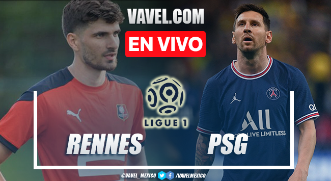 Resumen y mejores momentos del Stade Rennais 2-0 PSG EN Ligue 2021