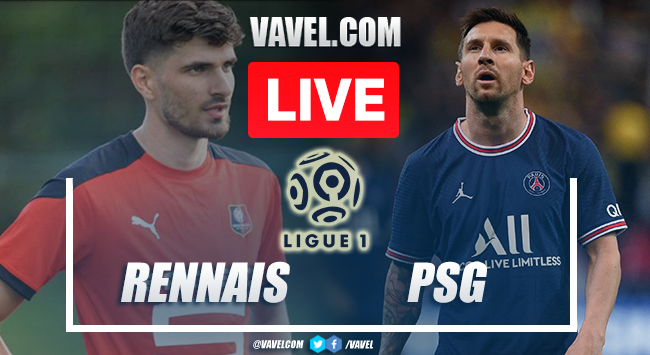 Goals and Highlights Rennes vs PSG (2-0)