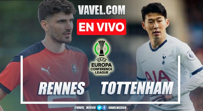 Goles y resumen del Stade Rennes 2-2 Tottenham en Conference League 2021