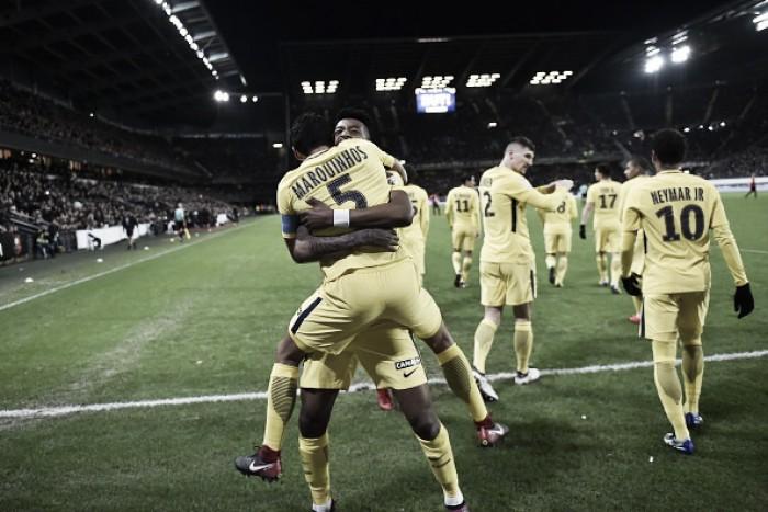 PSG sofre no fim, mas derrota Rennes e garante vaga na final da Copa da Liga Francesa