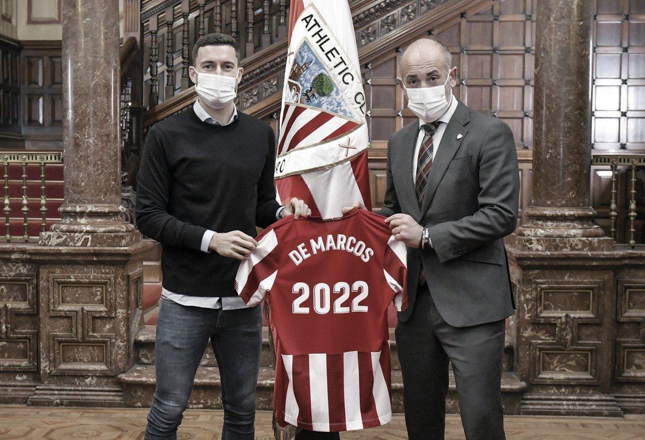 El Athletic renueva a De Marcos una temporada