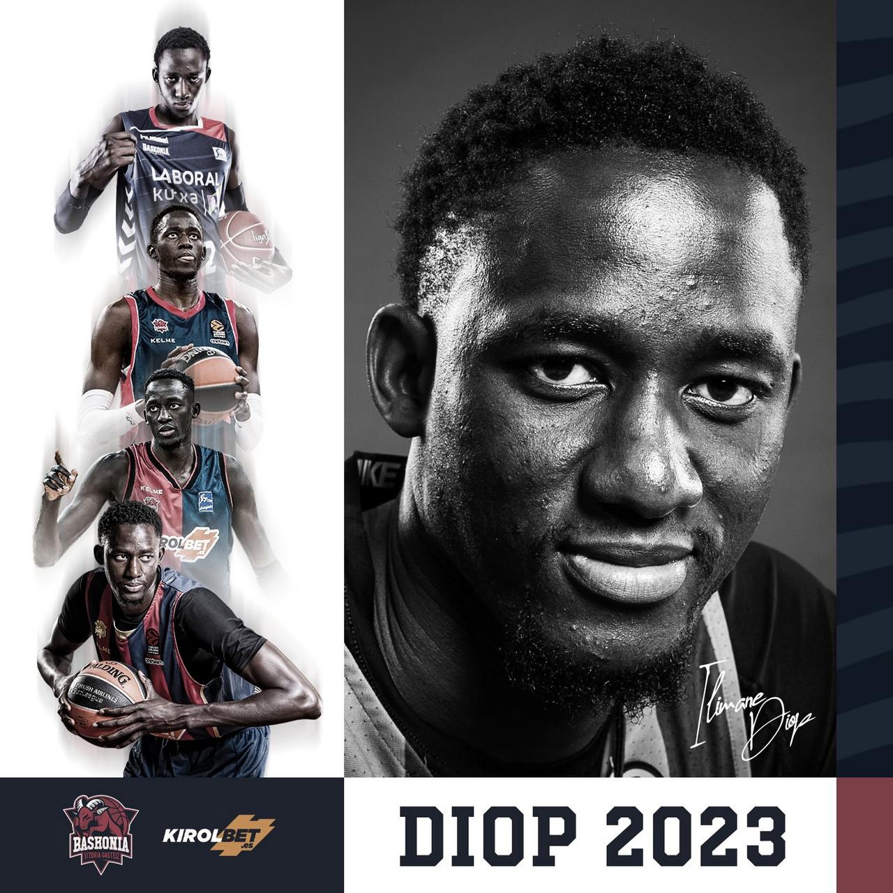 Ilimane Diop renueva con Baskonia hasta 2023