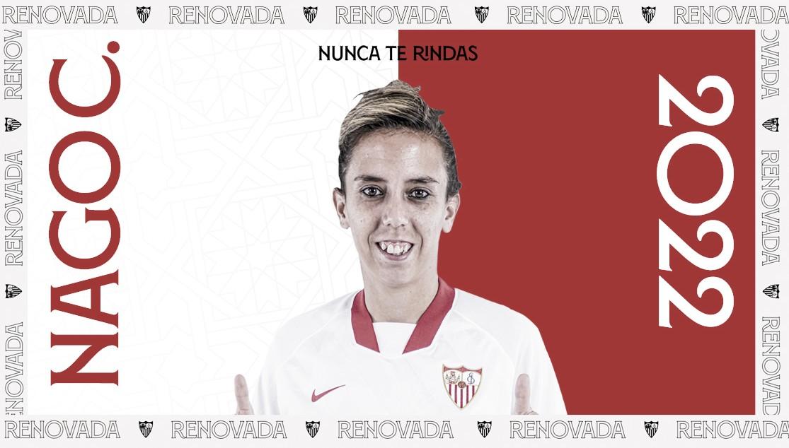 Nagore amplía su vínculo con el Sevilla FC hasta 2022