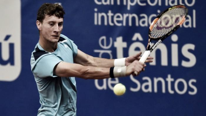 Challenger de Santos: Renzo Olivo vence Thiago Monteiro e fica com o título