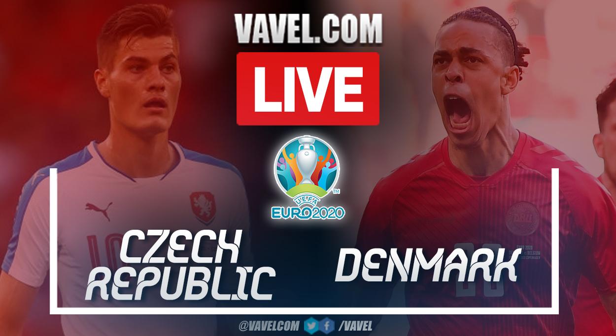 Highlights and goals: Czech Republic 1-2 Denmark in UEFA Euro 2020 Quarterfinal Match