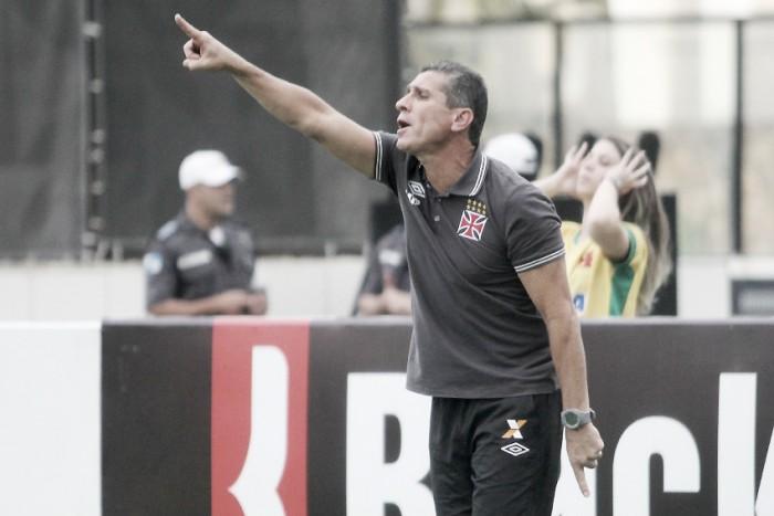 Jorginho assume responsabilidade por derrota do Vasco em casa