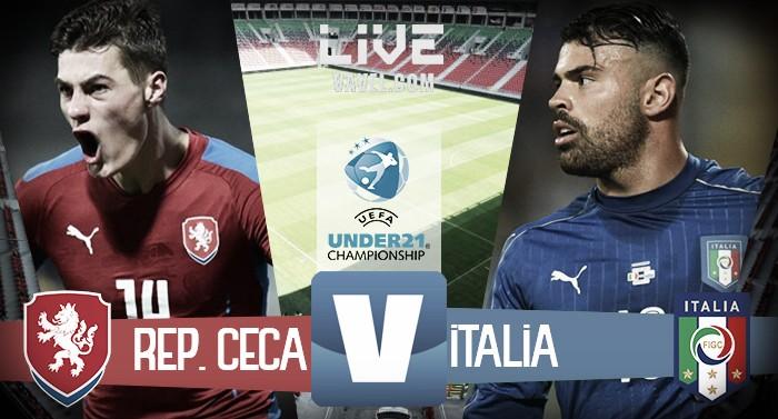 Repubblica Ceca - Italia, Europeo Under 21 (3-1): Travnik, Havlik e Luftner avvicinano gli azzurrini all'eliminazione