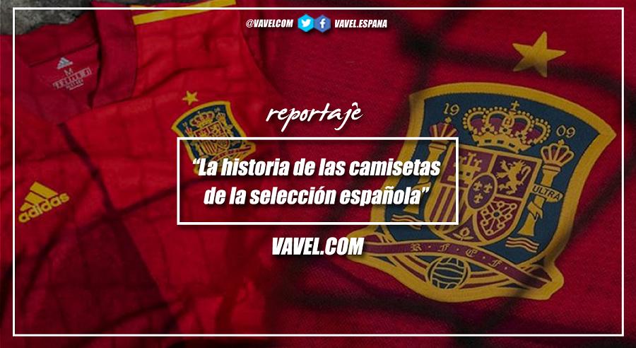 La historia de la camiseta de la selección española