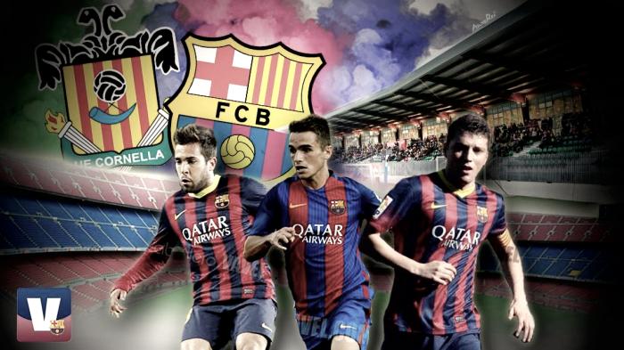 Cornellà y Barcelona, pasión por el fútbol base