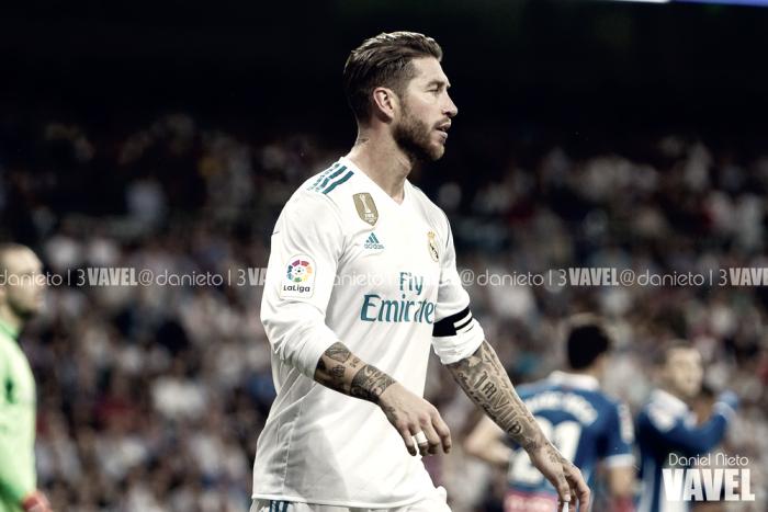 Las 13 temporadas de goles de Sergio Ramos