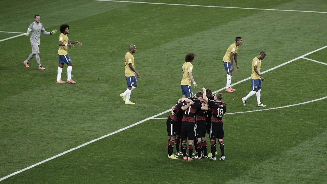 Lá vem eles de novo: SporTV vai reprisar histórico 7 a 1 da Alemanha contra Brasil na Copa de 2014