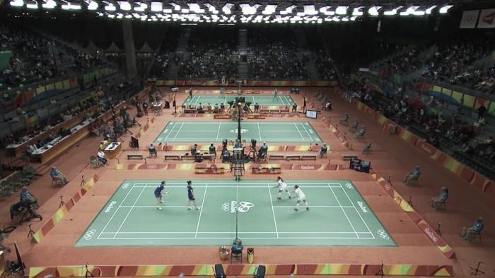Definidas as finais entre duplas no Badminton