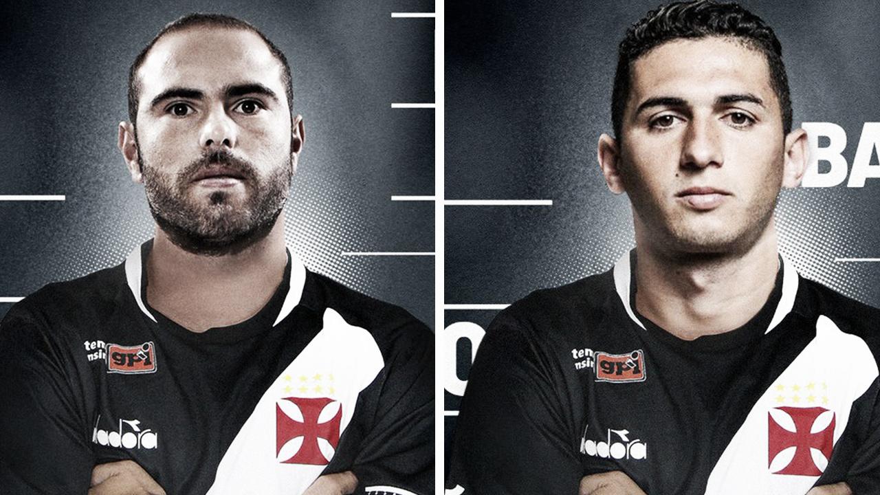 Bruno César e Danilo Barcelos são confirmados como reforços no Vasco