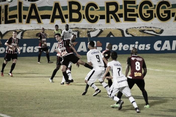 Em jogo marcado por confusões e cartões vermelhos, ABC vence Botafogo-SP e retorna à Série B
