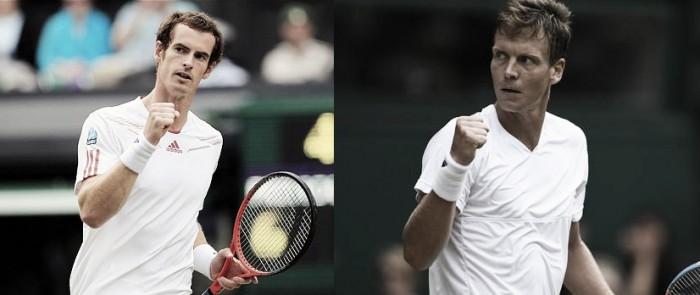 Andy Murray vence Tomas Berdych pelo Grand Slamde Wimbledon 2016 (3-0)