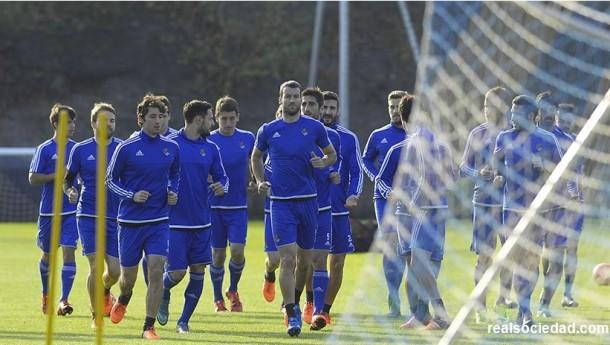 Cuatro sesiones más antes de jugar en el Camp Nou