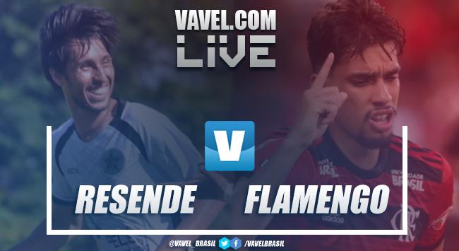 Resultado e gols de Resende 1x1 Flamengo pelo Campeonato Carioca 2019