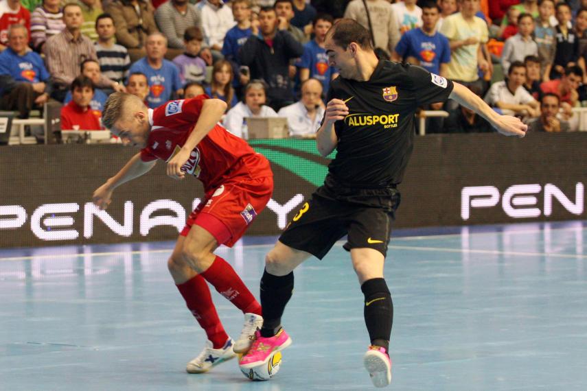 El Barça Alusport rompe con la historia y da el primer golpe ante ElPozo Murcia