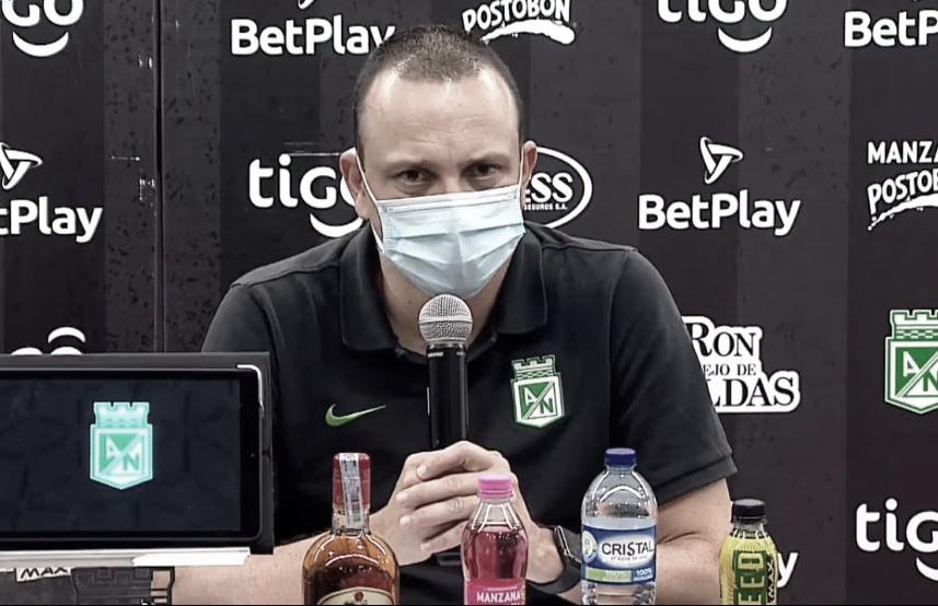 """Alejandro Restrepo: """"Queremos un equipo equilibrado, sólido y que juegue bien"""""""