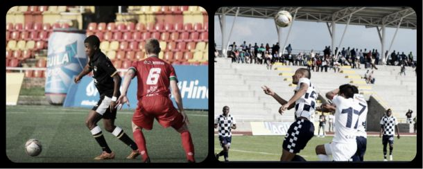 Clasificados grupo F, sexta fecha de la Copa Águila