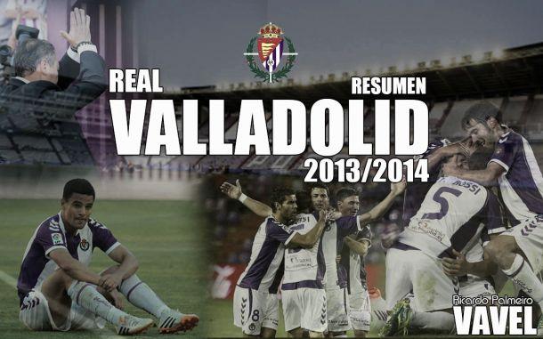 Resumen temporada 2013/14 del Real Valladolid: descenso a los infiernos (II)