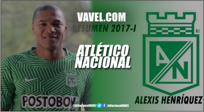 Resumen 2017-I Atlético Nacional: Alexis Henríquez, el 'capitán' de los éxitos