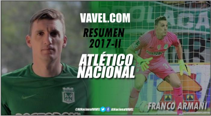 Resumen 2017-I Atlético Nacional: Franco Armani, cada vez más ídolo