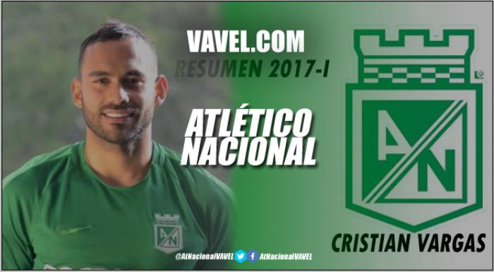 Resumen 2017-I Atlético Nacional: Cristian Vargas, un suplente de lujo