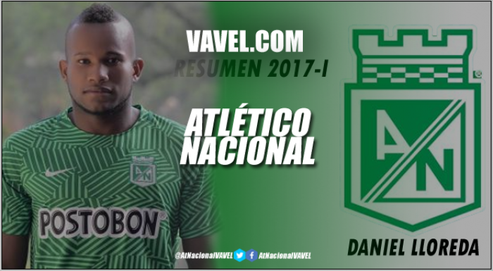 Atlético Nacional Resumen 2017-I: Daniel Lloreda, una lesión lo sacó del juego