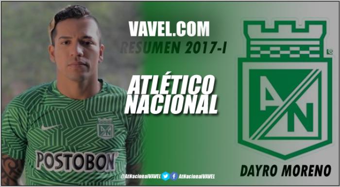 Atlético Nacional Resumen 2017-I: Dayro Moreno, goles y comunión con la hinchada