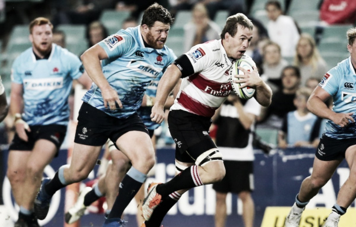 Lions y Sharks se llevaron la piñata en la décima semana del Super Rugby
