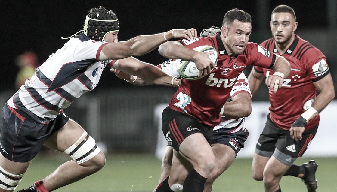 Crusaders, a paso arrollador en la décima séptima semana del Super Rugby