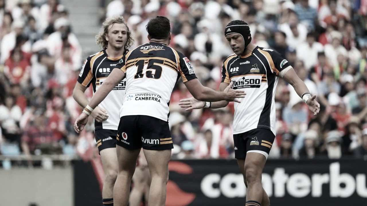 Brumbies hizo un negoción en la décima sexta semana del Super Rugby