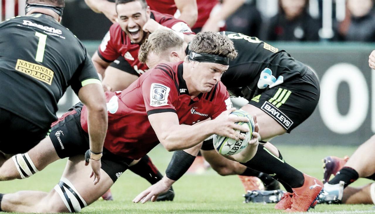 Crusaders fue sinónimo de solidez en la segunda semana del Super Rugby