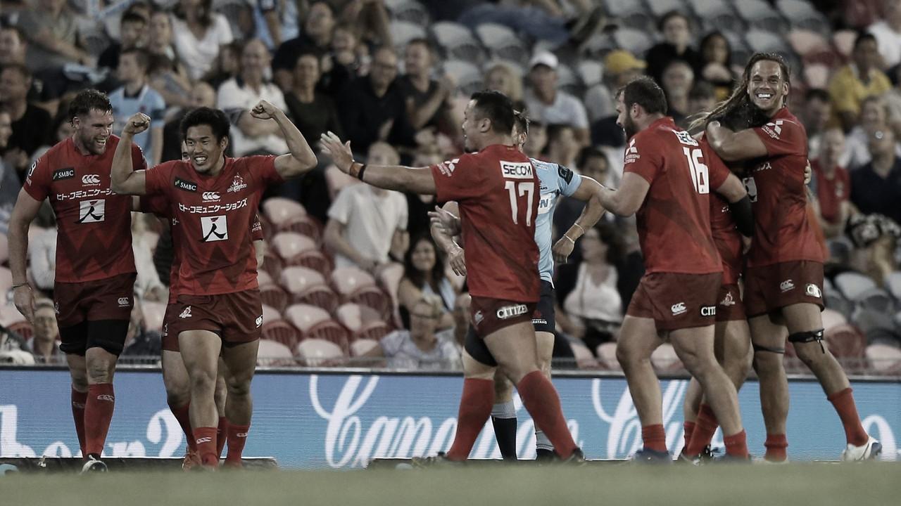 Sunwolves volvió a sorprender en la séptima semana del Super Rugby